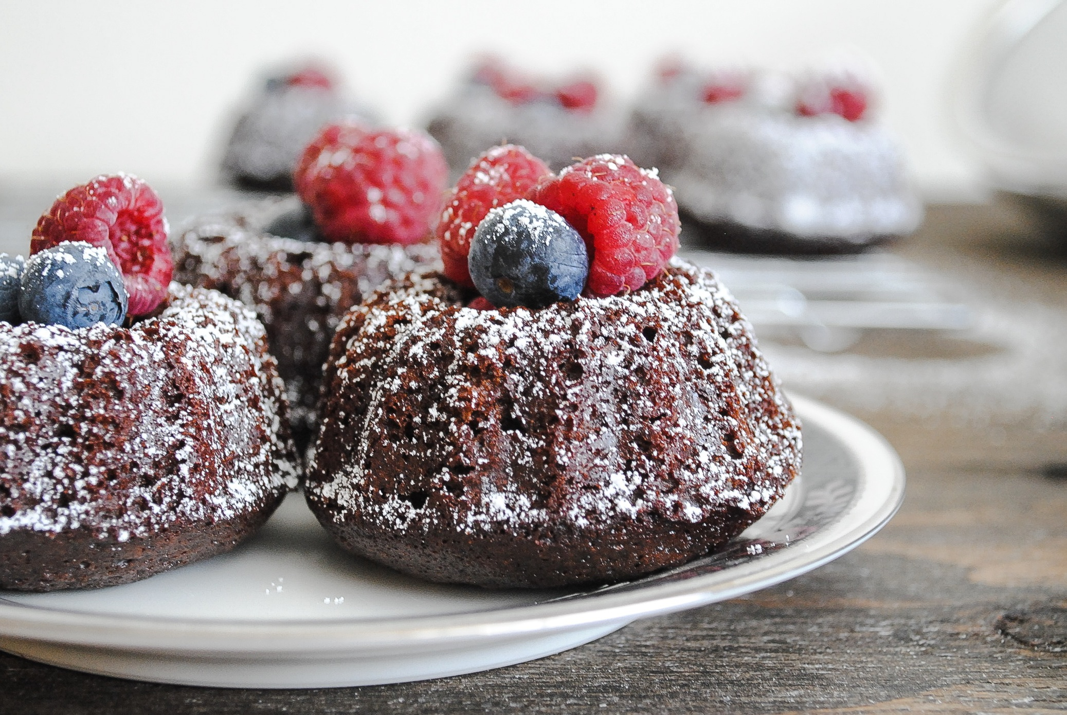 Mini Cake Recipes With Pictures : Mini Chocolate Bundt Cakes Blessings + Good Food