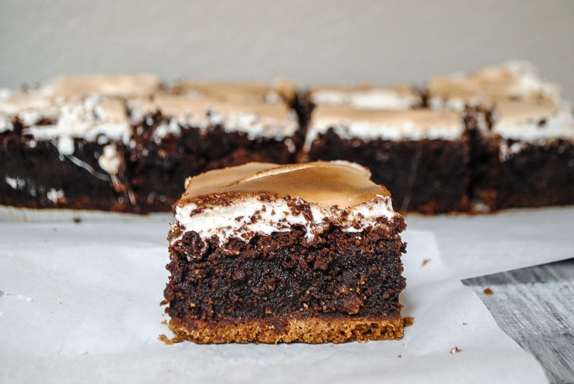 Ultimate S'mores Brownie | Blessings + Good Food