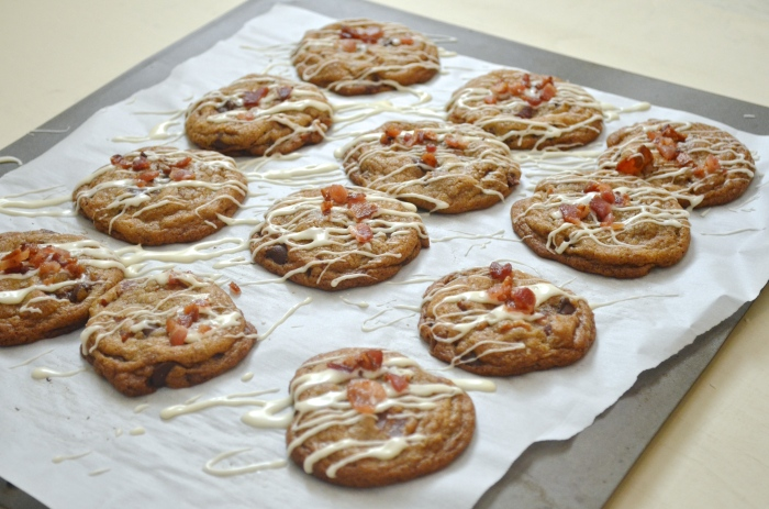 Bacon & Maple Chocolate Chip Cookies