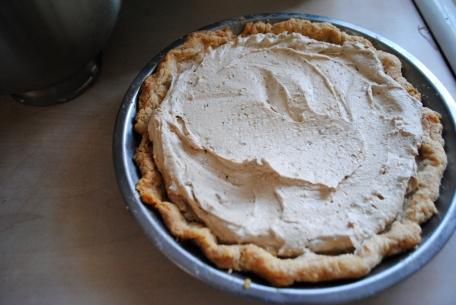 Earl Grey Pie filled